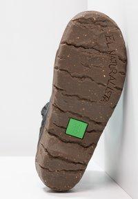 El Naturalista - YGGDRASIL - Classic ankle boots - black - 5