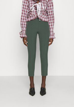 GISELE MODERN PANTS - Trousers - pine green