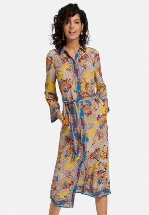 Korte jurk - gelb/multicolor