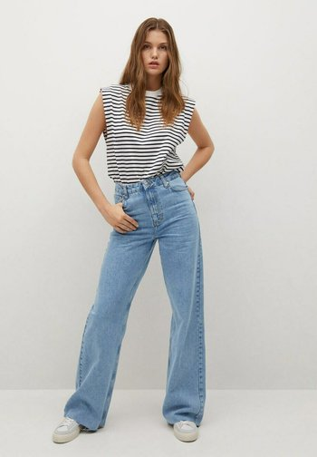 Jeansy Relaxed Fit - mittelblau