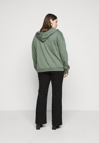 Even&Odd - Sweater met rits - green - 3