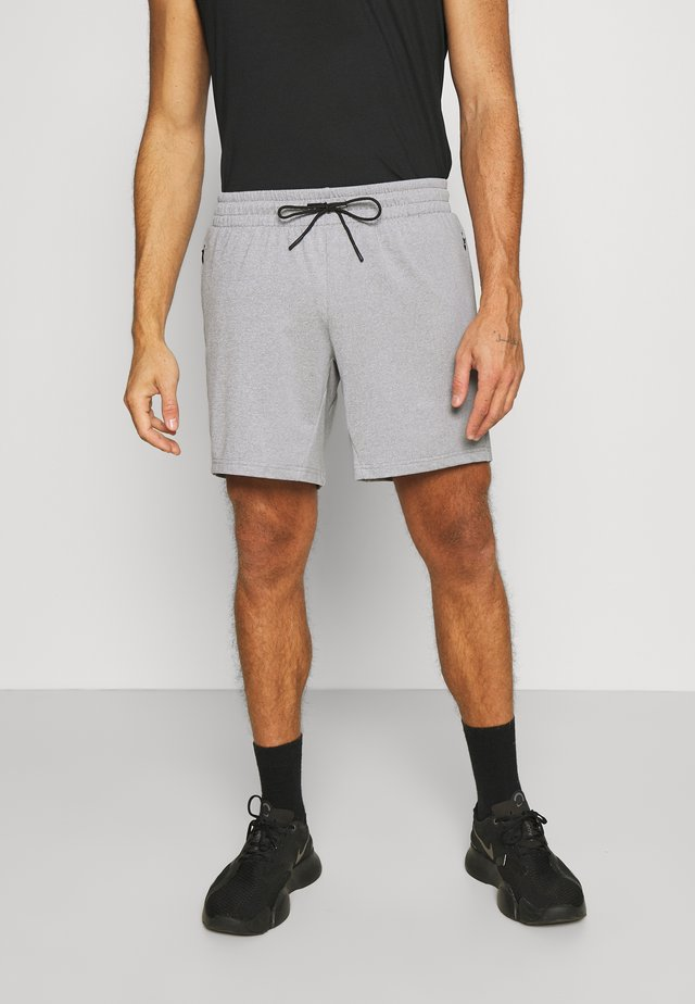 Men's training shorts - Sports shorts - grey