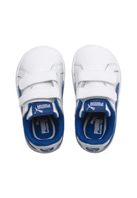 Puma - Baby shoes - white-lapis blue - 1