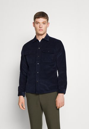 SLHLOOSEDECKER OVERSHIRT - Shirt - navy blazer