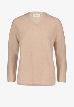 MIT STRUKTUR - Pullover - nature melange