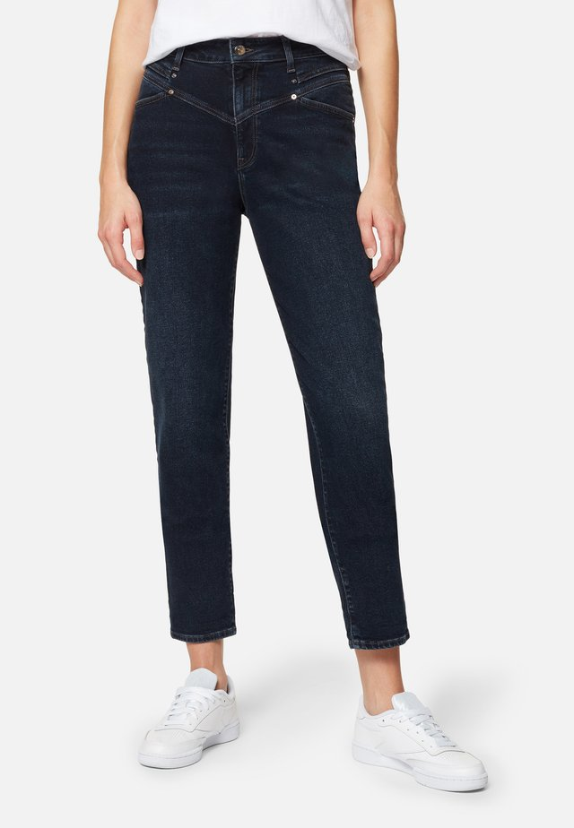 STELLA - Straight leg jeans - deep brushed str