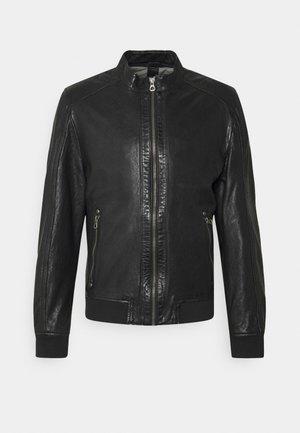 GRAHAN  - Veste en cuir - black