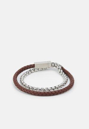 BLENDED - Bracelet - silver-coloured/brown