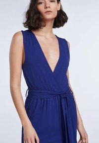 SET - SET KLEID - Day dress - blue print - 3