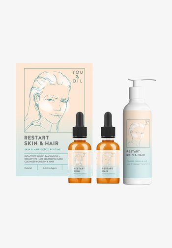 CLEANSING COMPLEX FOR SKIN AND HAIR - Skincare set - -