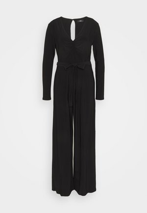 RUCHED - Jumpsuit - black
