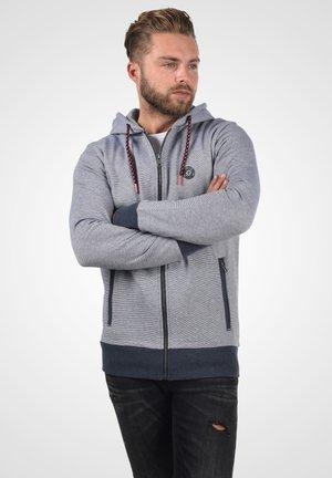 Sweat à capuche zippé - insignia blue melange