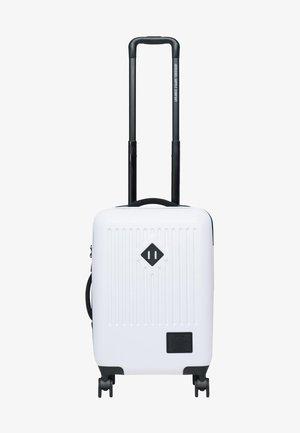 Wheeled suitcase - white