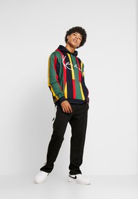 Karl Kani - SIGNATURE HOODIE - Hoodie - green/red/yellow/navy - 1