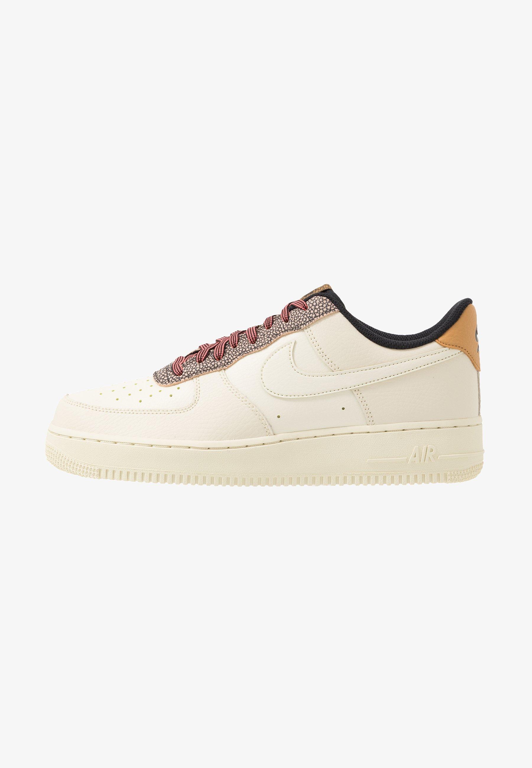 Nike Sportswear Air Force 1 07 Lv8 Trainers Wheat Shimmer Club Gold Black Beige Zalando Co Uk