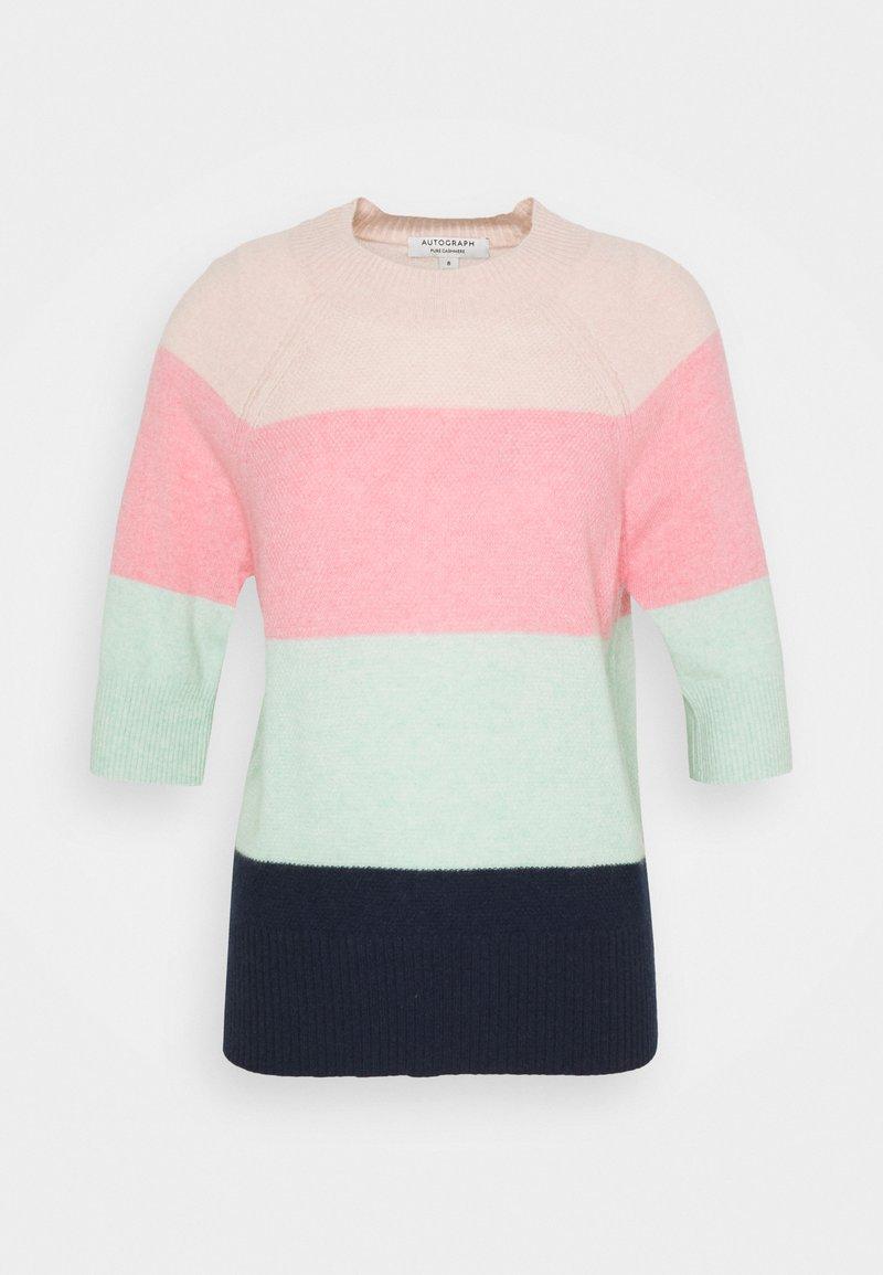 Marks & Spencer London - STRIPE TEE - Triko spotiskem - multi-coloured