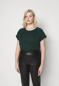 Anna Field - T-shirts - dark green - 0