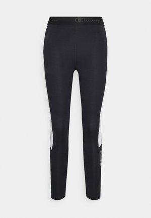 LEGGINGS - Tights - black/grey/white