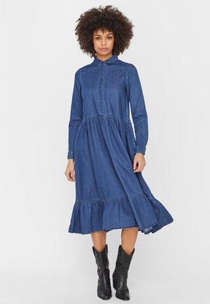 Robe longue - medium blue denim