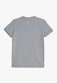 Fila - ROBIN - Print T-shirt - light grey melange - 1