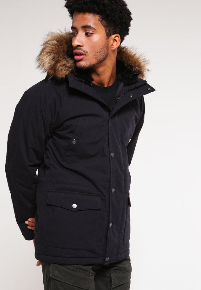 TRAPPER - Cappotto invernale - black