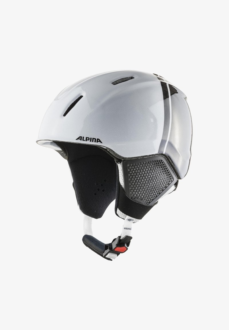 Alpina - Helmet - black-white