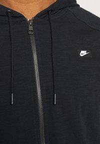 Nike Sportswear - HOODIE - Tröja med dragkedja - black - 5