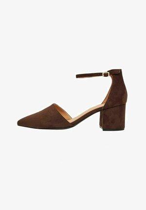 Classic heels - darkbrown1