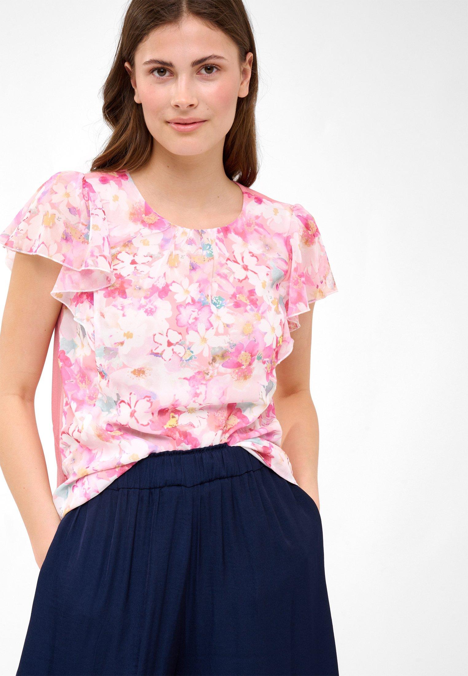 Damen MIT BLUMENMUSTER - T-Shirt print