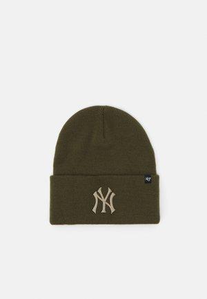 MLB NEW YORK YANKEES HAYMAKER CUFF UNISEX - Bonnet - sandalwood