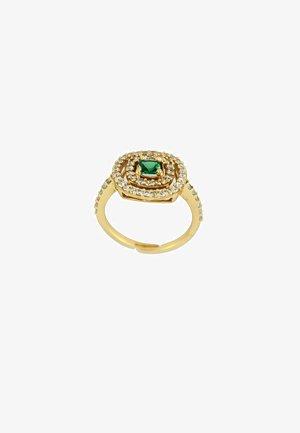 GOLDEN MALDIVES - Ring - green/gold coloured