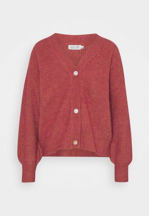 LADIES CARDIGAN - Chaqueta de punto - old pink