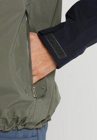 Bergans - OSLO - Hardshellová bunda - green mud/dark navy - 6