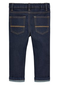 Next - Straight leg -farkut - mottled royal blue - 1