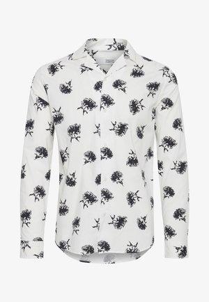 HARRIS LS CUBA FLOWER - Shirt - white