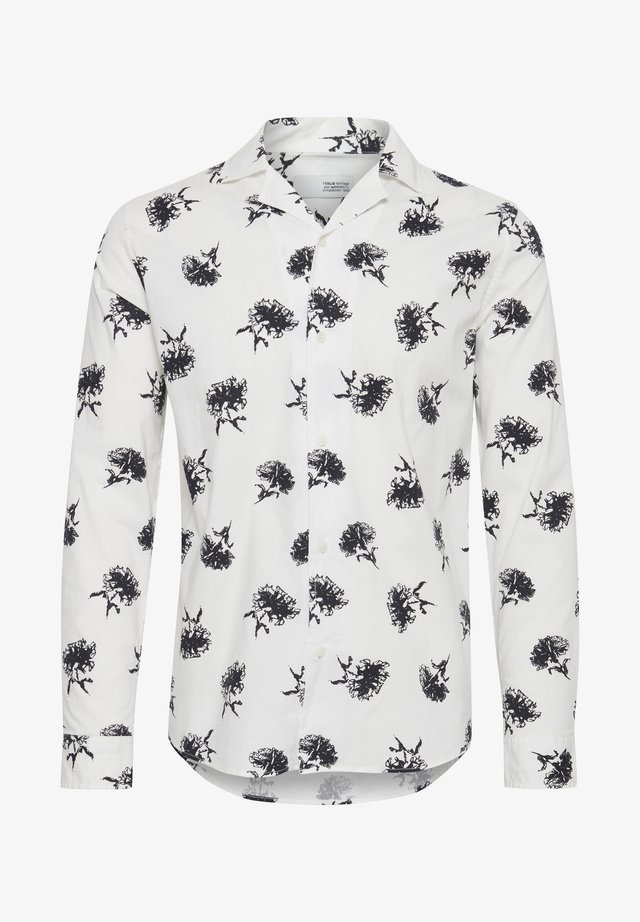 HARRIS LS CUBA FLOWER - Shirt - white