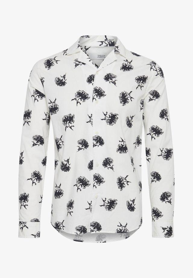 HARRIS LS CUBA FLOWER - Koszula - white