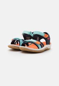Keen - VERANO UNISEX - Walking sandals - black iris/blue tint - 1