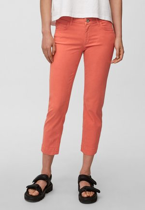 Slim fit jeans - burnt orange