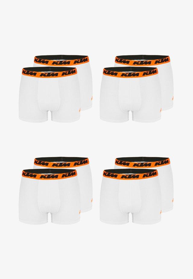 8 ER PACK MULT - Pants - white