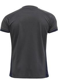 Hummel - Basic T-shirt - marine/asphalt - 2