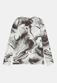 Abercrombie & Fitch - NOVELTY PATTERN - Langærmede T-shirts - black pattern - 1