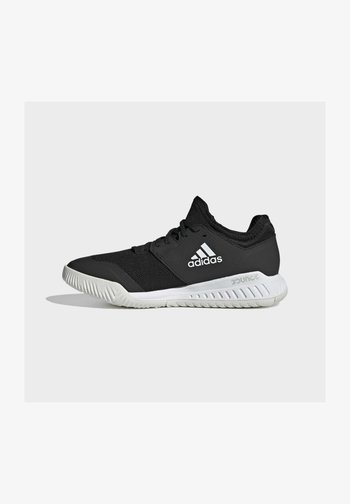 COURT TEAM BOUNCE INDOOR SHOES - Handball shoes - core black/ftwr white/silver met.