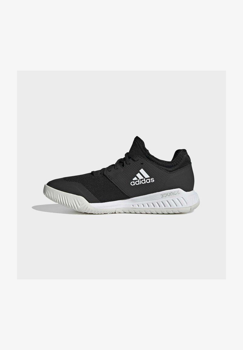 adidas Performance - COURT TEAM BOUNCE INDOOR SHOES - Handbalschoenen - core black/ftwr white/silver met.