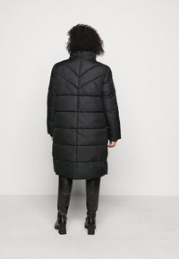 MY TRUE ME TOM TAILOR - LONG JACKET - Winter coat - deep black - 3