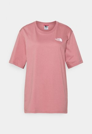 W BF SIMPLE DOME - Basic T-shirt - mesa rose