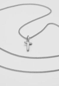 Pilgrim - NECKLACE T - Naszyjnik - silver-coloured - 4