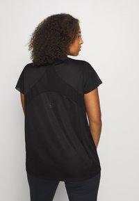 adidas Performance - TEE  - Basic T-shirt - black - 2