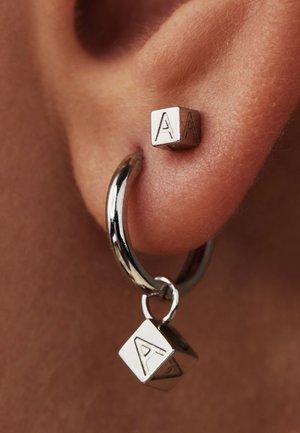 Earrings - weißgold