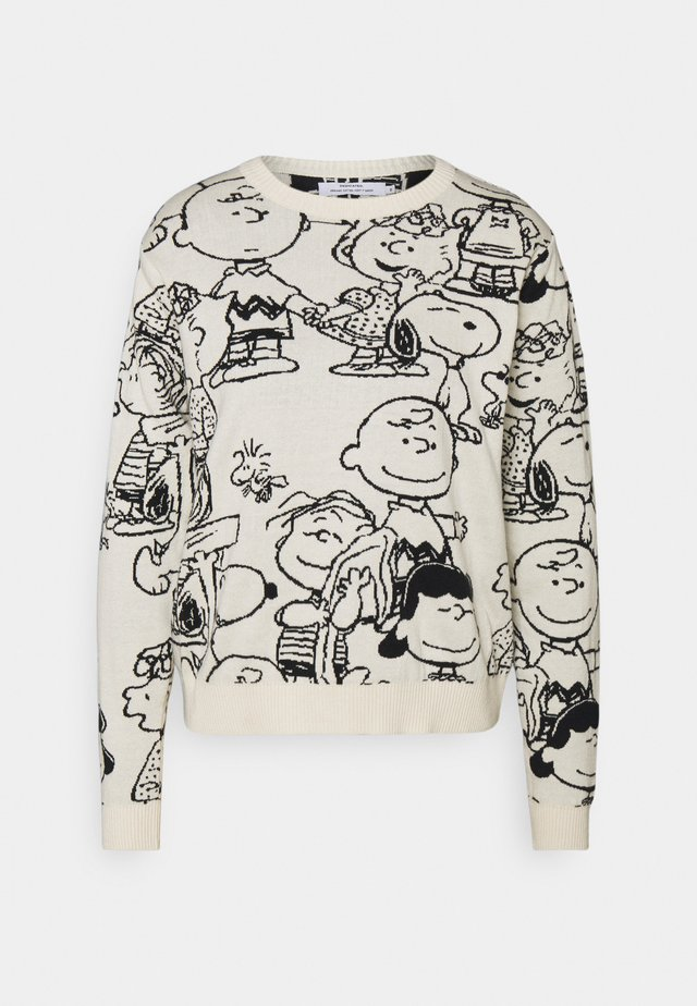 ARENDAL PEANUTS  - Pullover - off white